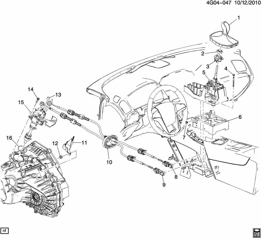 Buick Verano Manual Transmission Shift Knob  Shifter