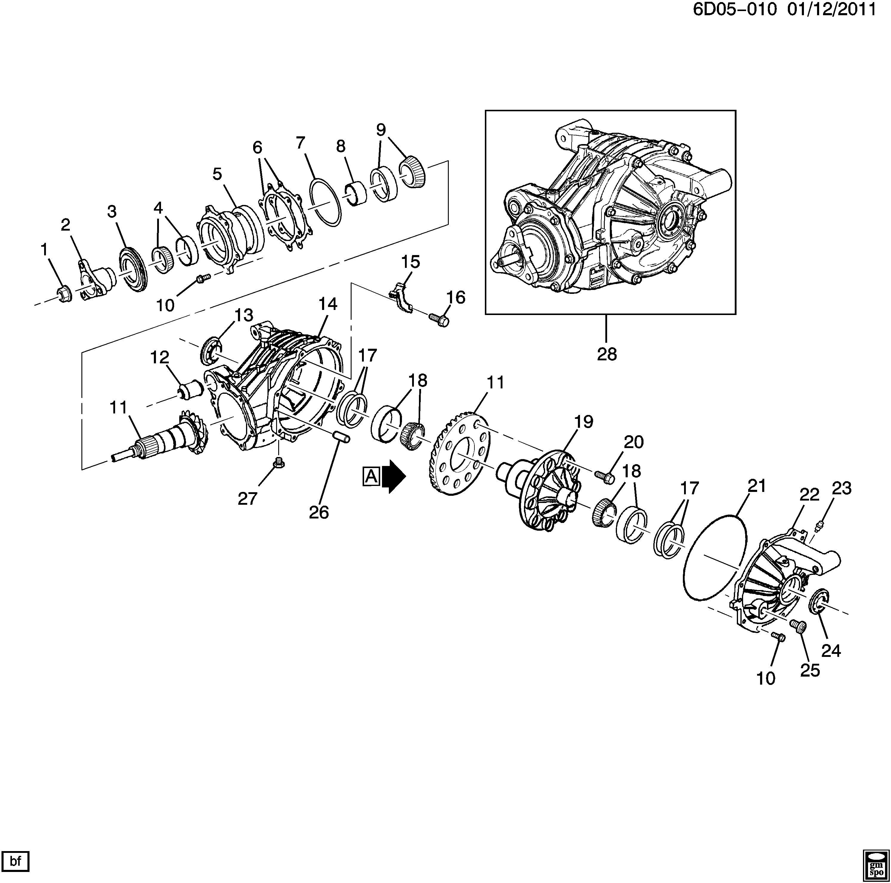differential carrier part 1