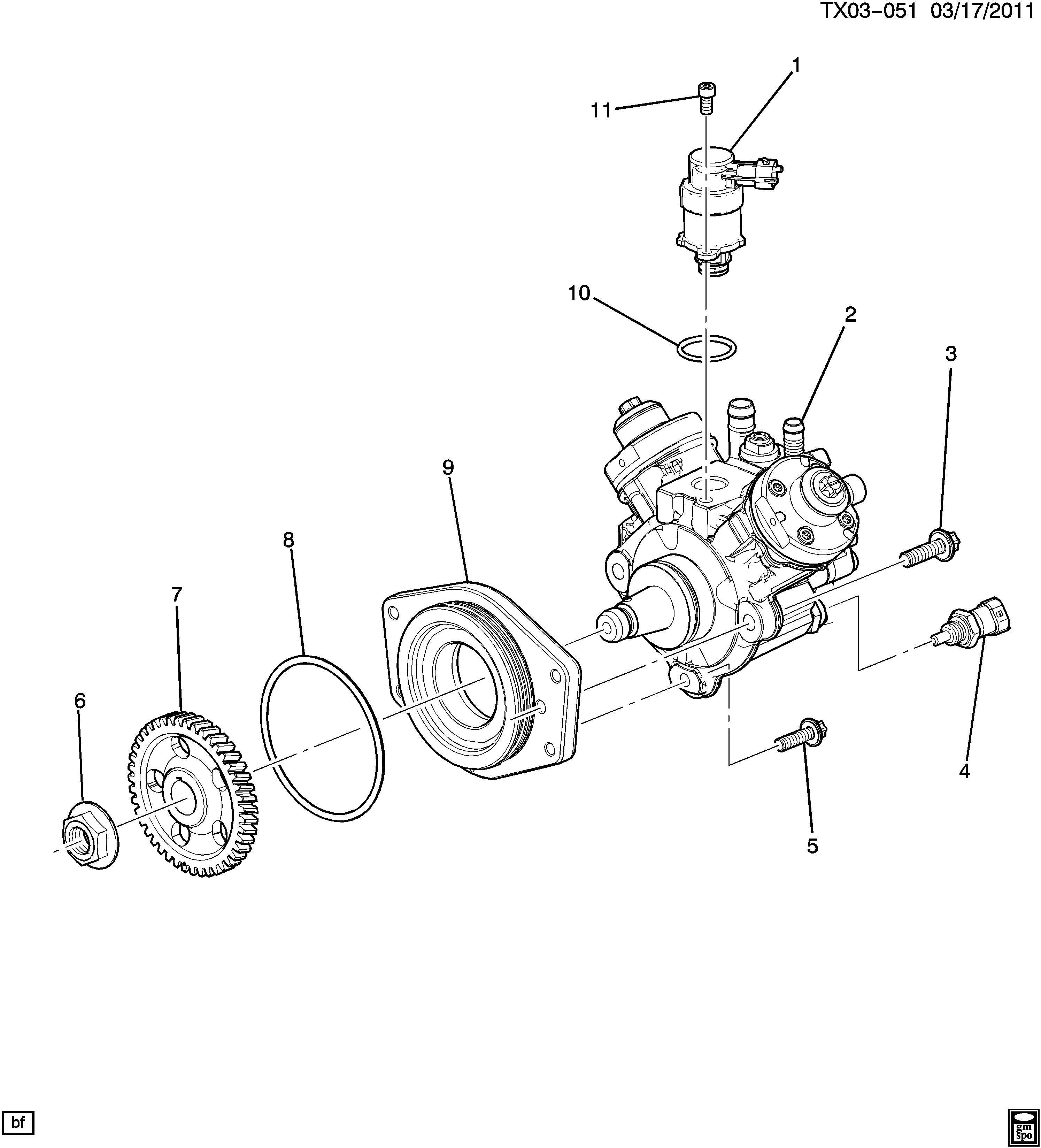 12643002  Pump  Sensor