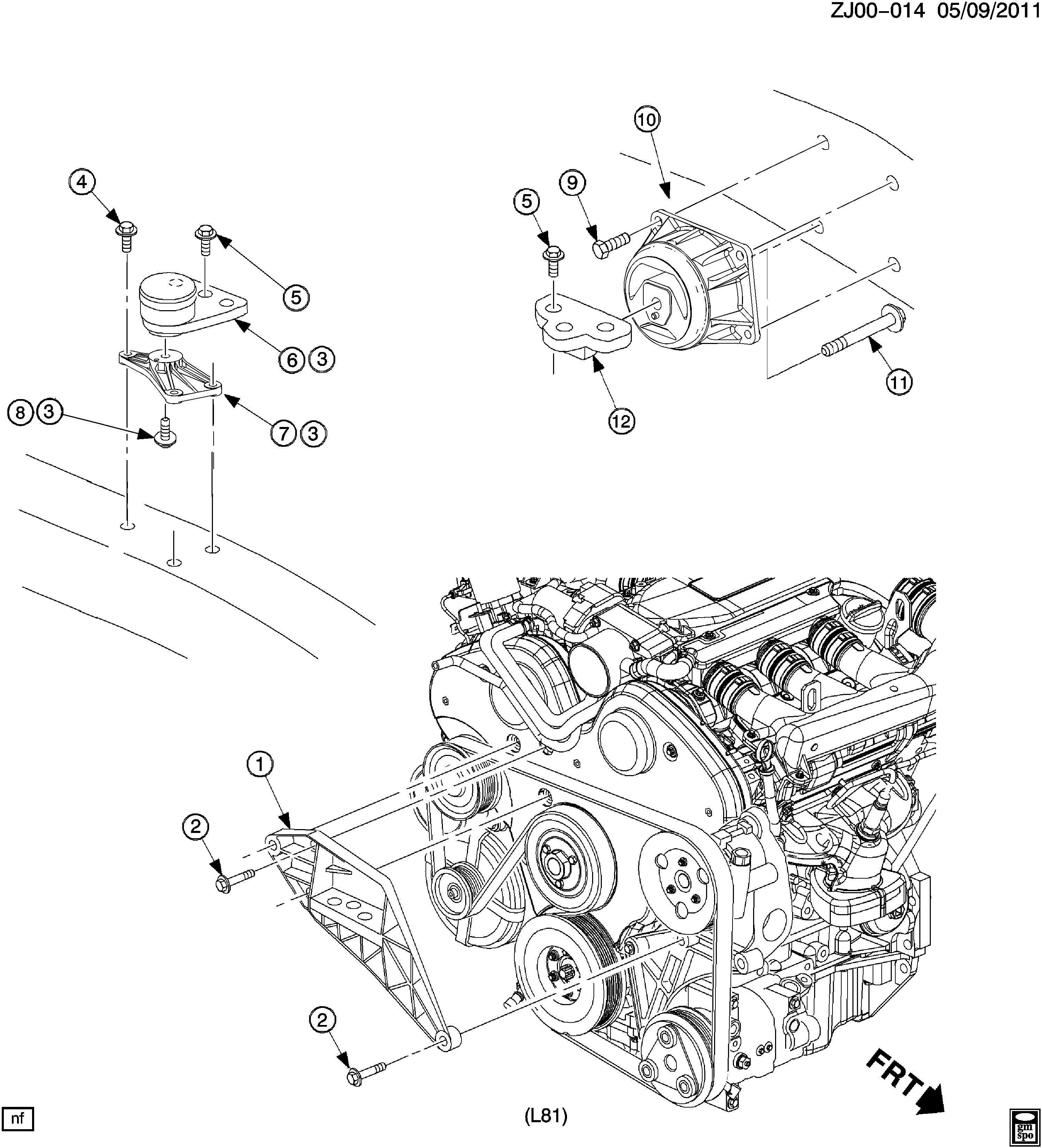 L81 Engine Diagram : 90576087 gm support engine mounting support eng mt ~ A.2002-acura-tl-radio.info Haus und Dekorationen