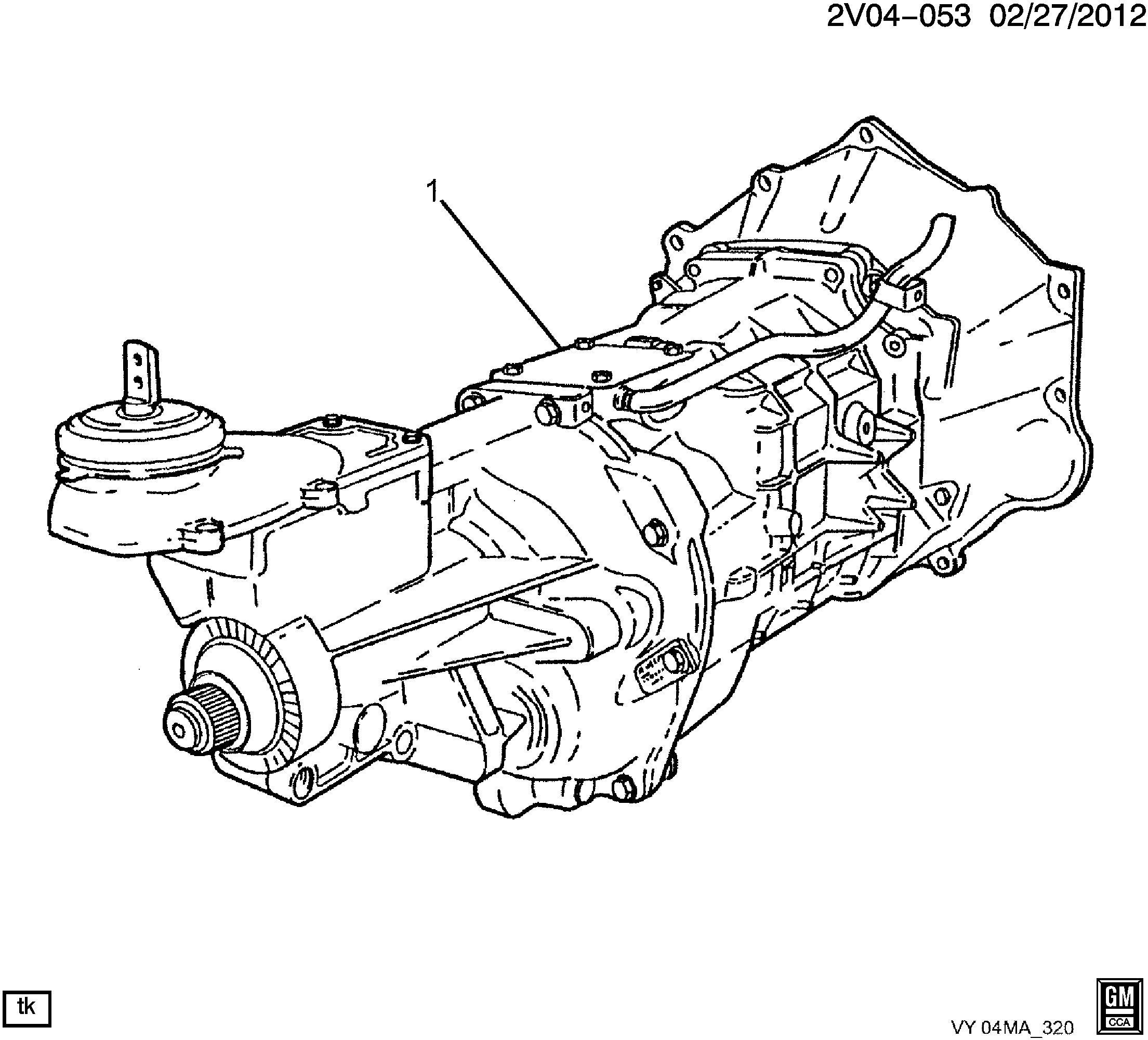 92155485 - Gm Transmission  Manual  6