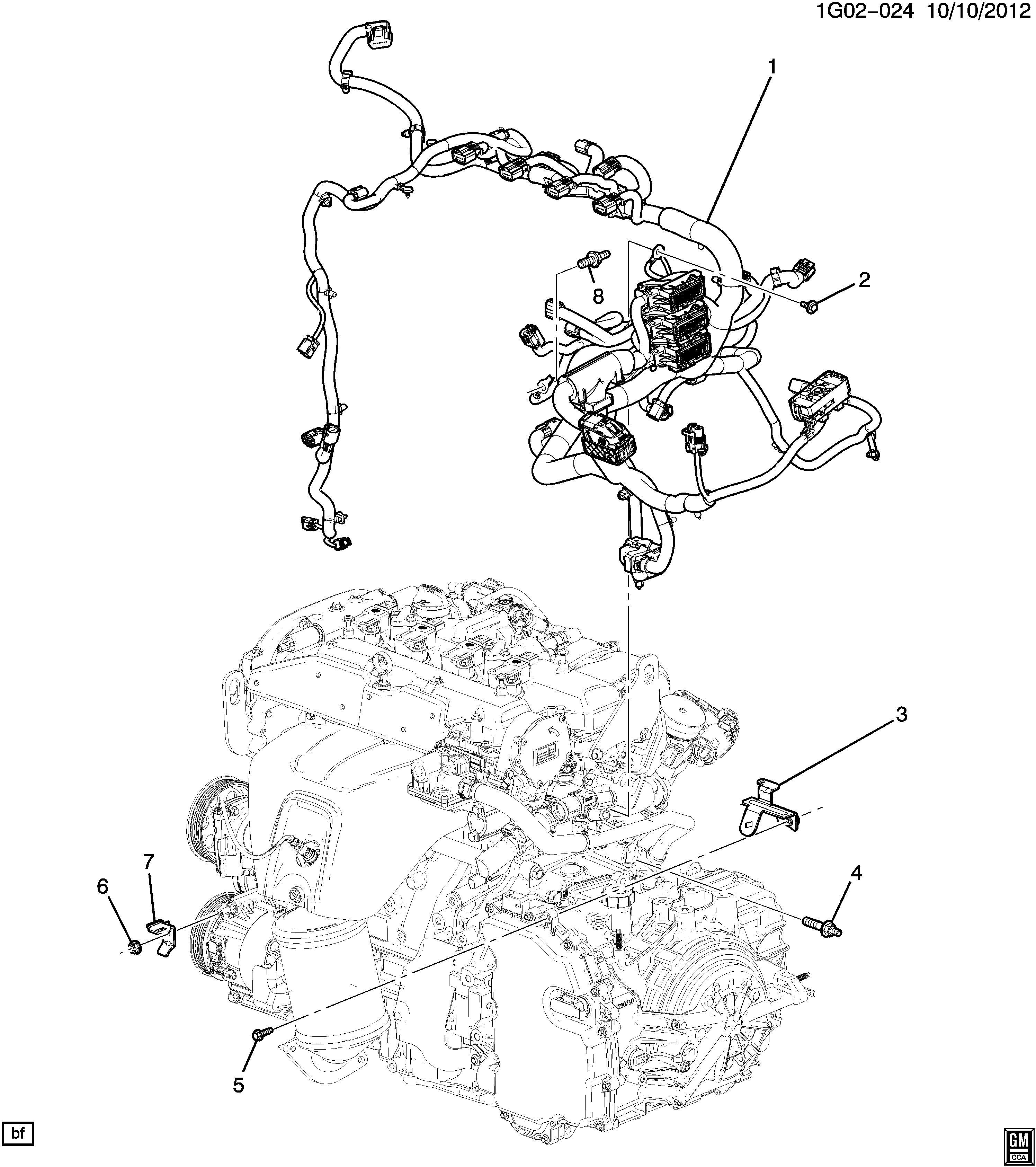 22822678 - Gm Harness Assembly