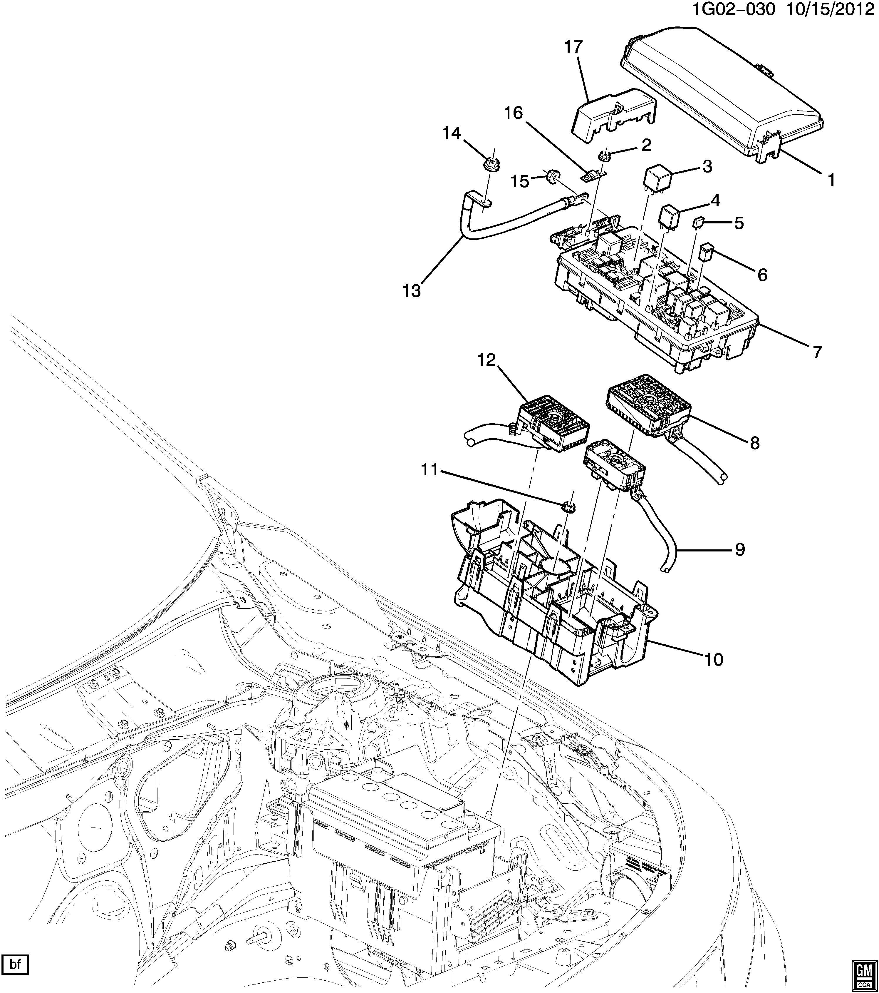 Chevrolet Impala Housing  Main Wiring Junction And Fuse Block  Housingfcmpt  Enginesfor