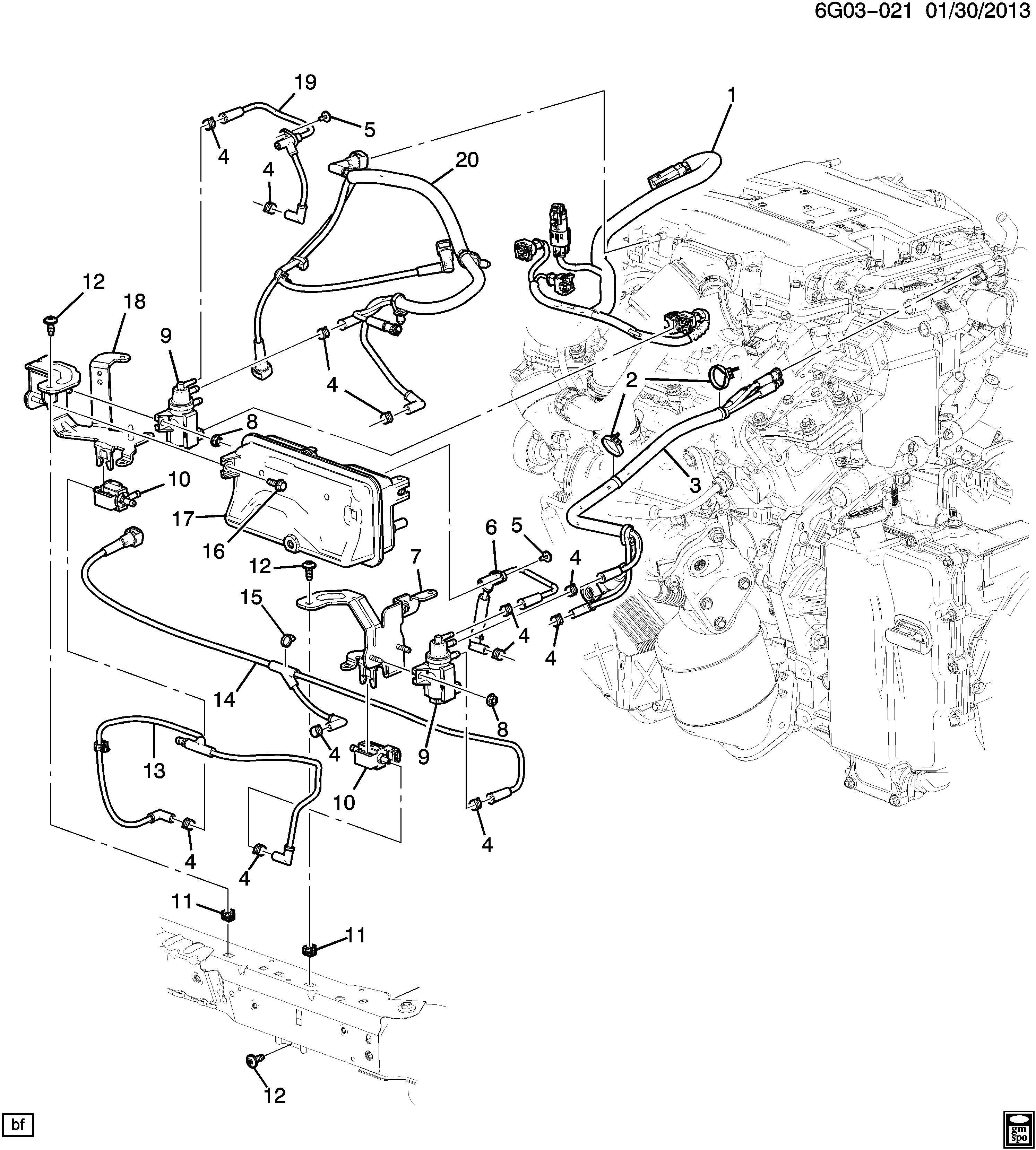 chevrolet p30 strap clip emission system transmission. Black Bedroom Furniture Sets. Home Design Ideas