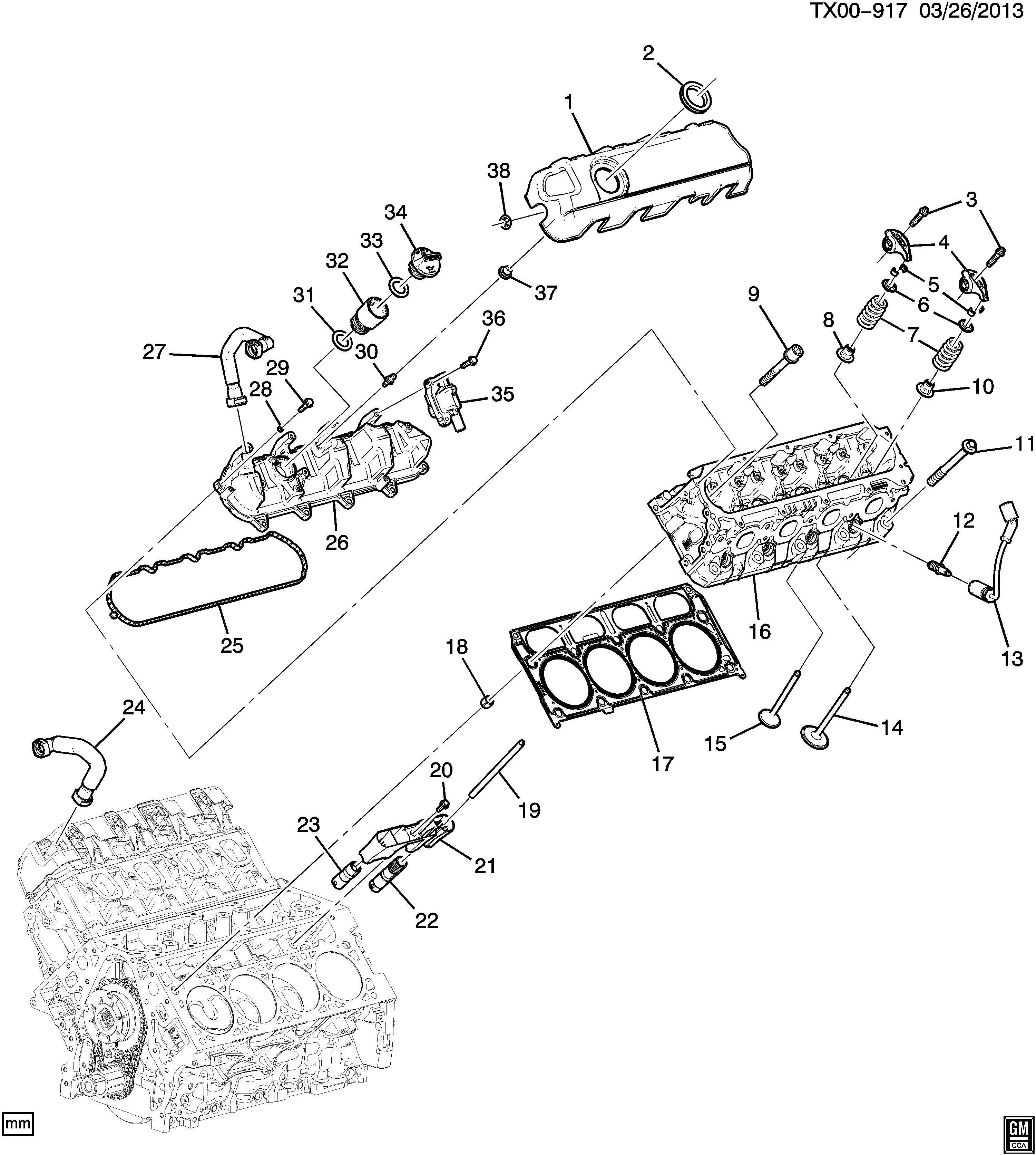 l83 engine cylinder