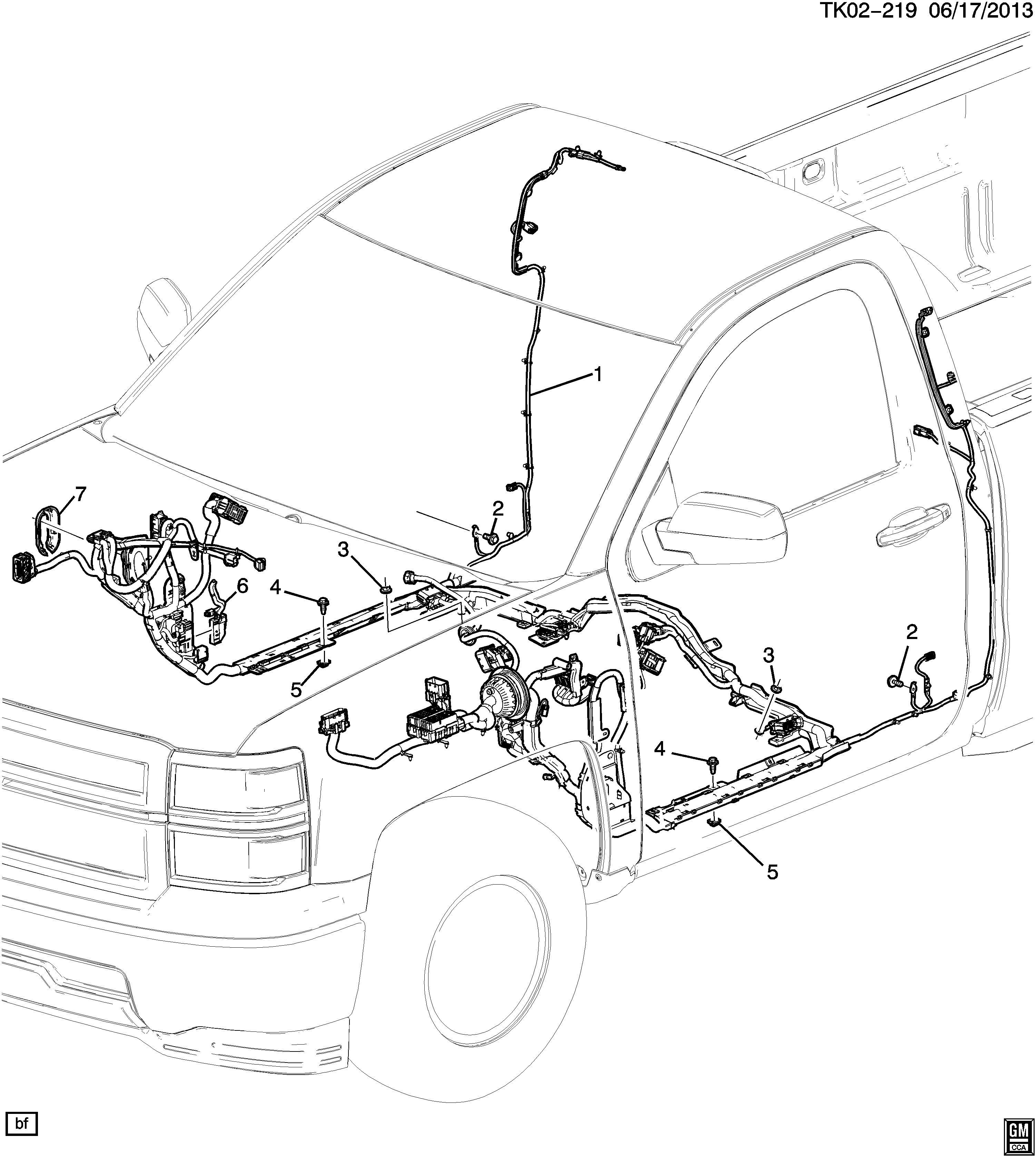 23154194 - Chevrolet Harness Assembly