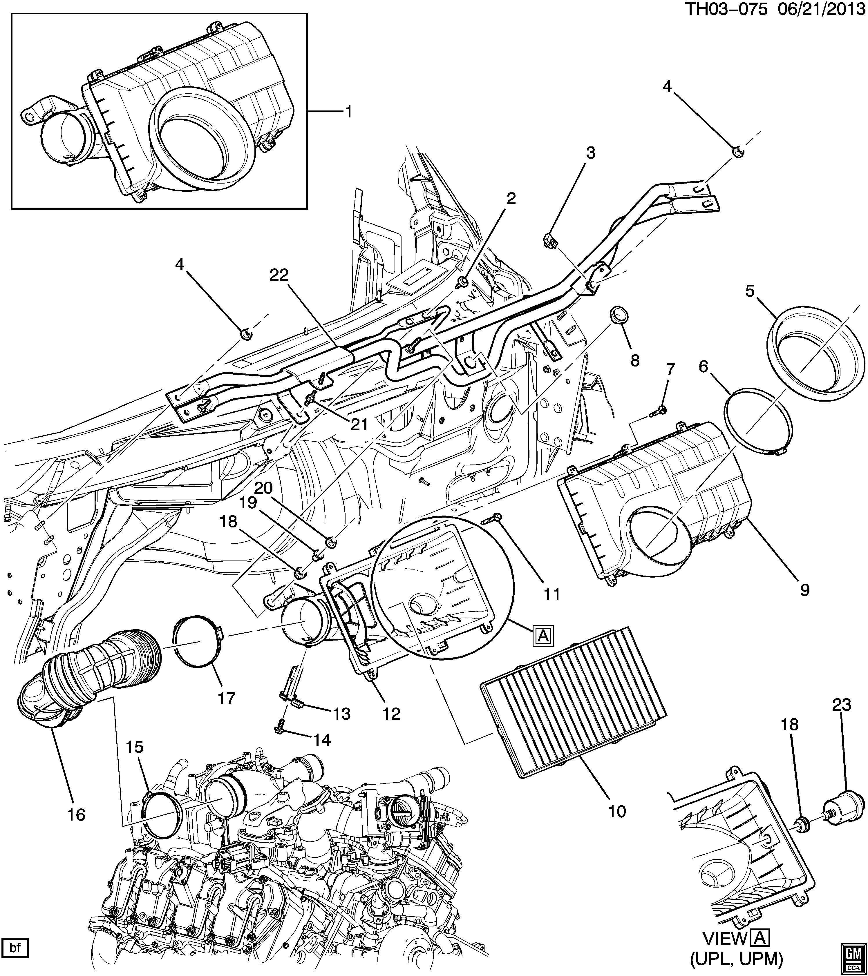 Gmc C4500 Air Intake System