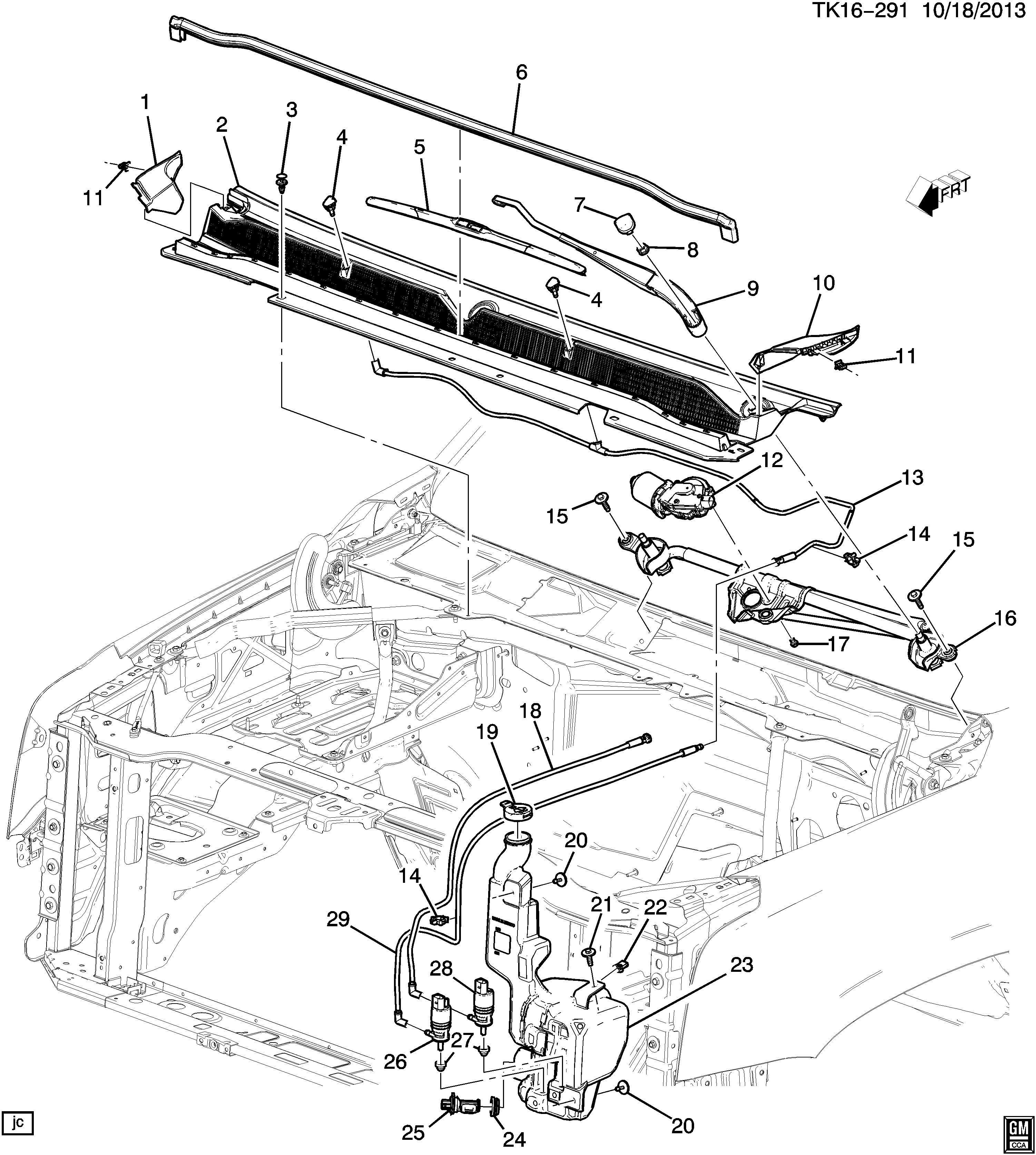 Chevrolet Suburban 3500 Hd Arm  Windshield Wiper Transmission  Arm  Wsw Black  - Rh