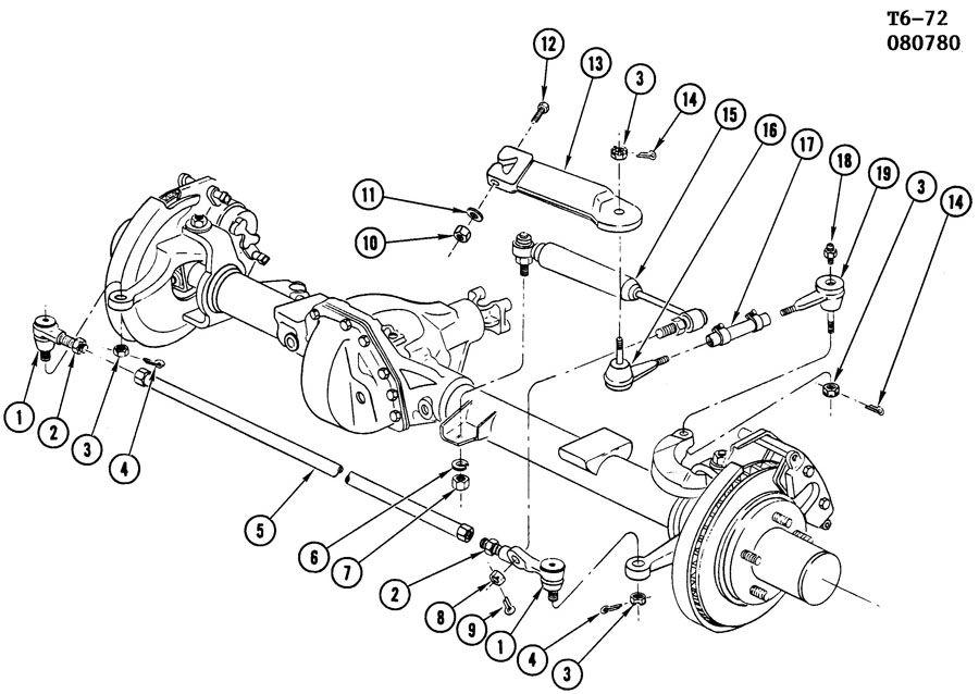 Chevrolet K20 Arm  Pitman  Steering Pitman  Arm  Pit  Arm