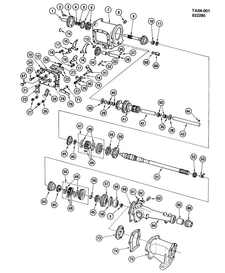 Saturn manual transmission identification