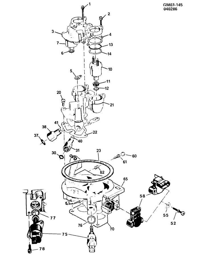 1976 Corvette Vacuum Hose Diagram 1976 Corvette Ignition