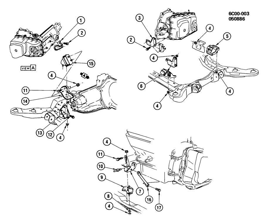 ht4100 motor mounts