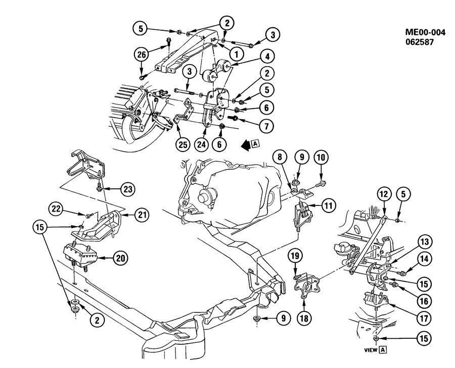 oldsmobile toronado engine  u0026 transmission mounting