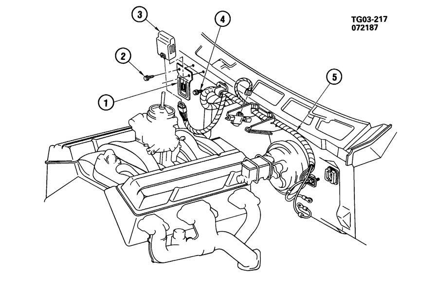 1988 gmc g25 e c m  module  u0026 wiring harness