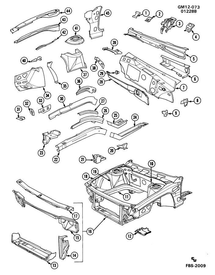 1997 Oldsmobile 88 Engine Diagram
