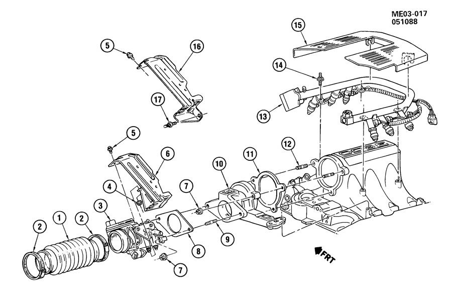 1989 buick riviera fuel injection system
