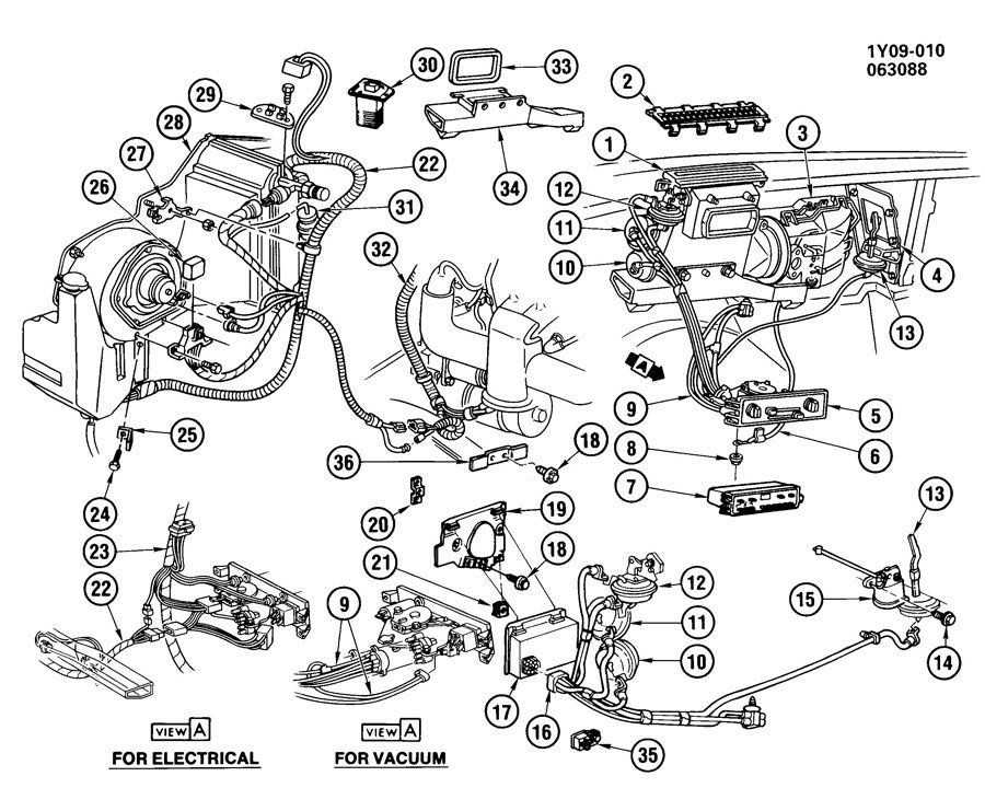 87 corvette air conditioning wiring diagram