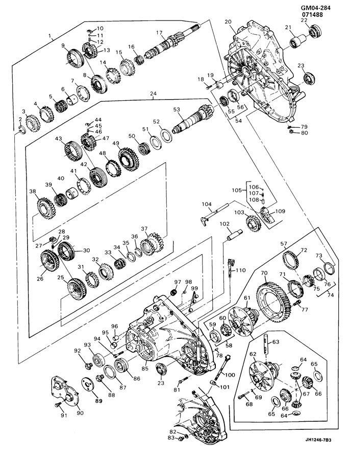04 Gmc Envoy Belt Diagram Com