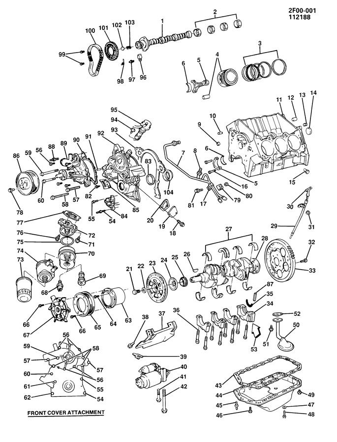 Ford Ranger V6 Engine Diagram
