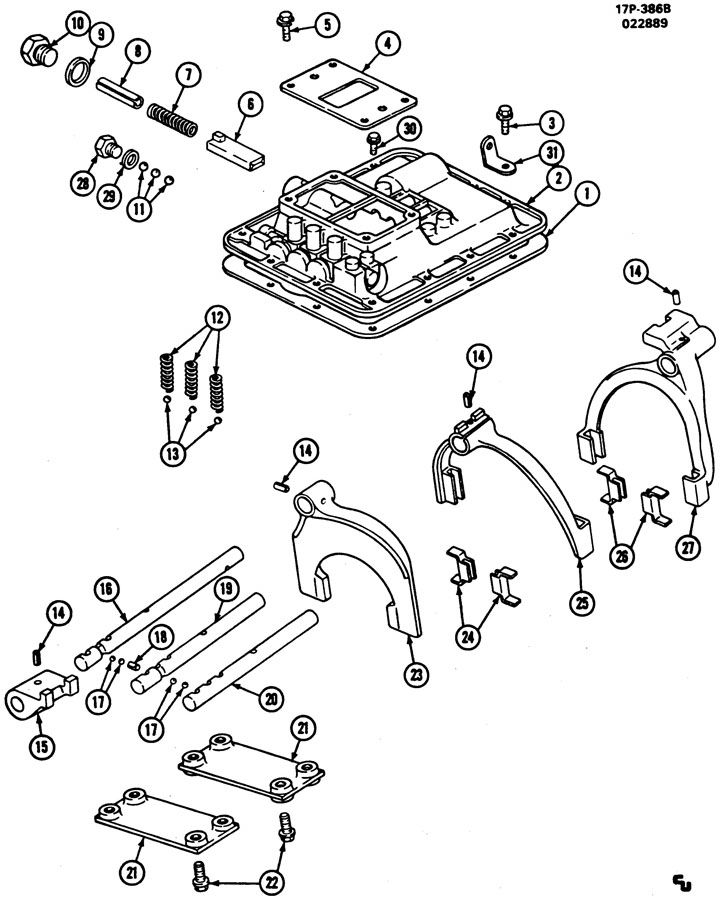 funk transmission parts diagram