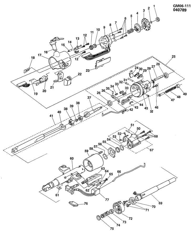 1956 buick steering column diagram  1956  free engine