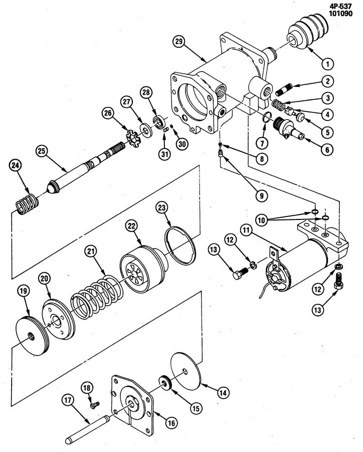 brake booster  hydraulic