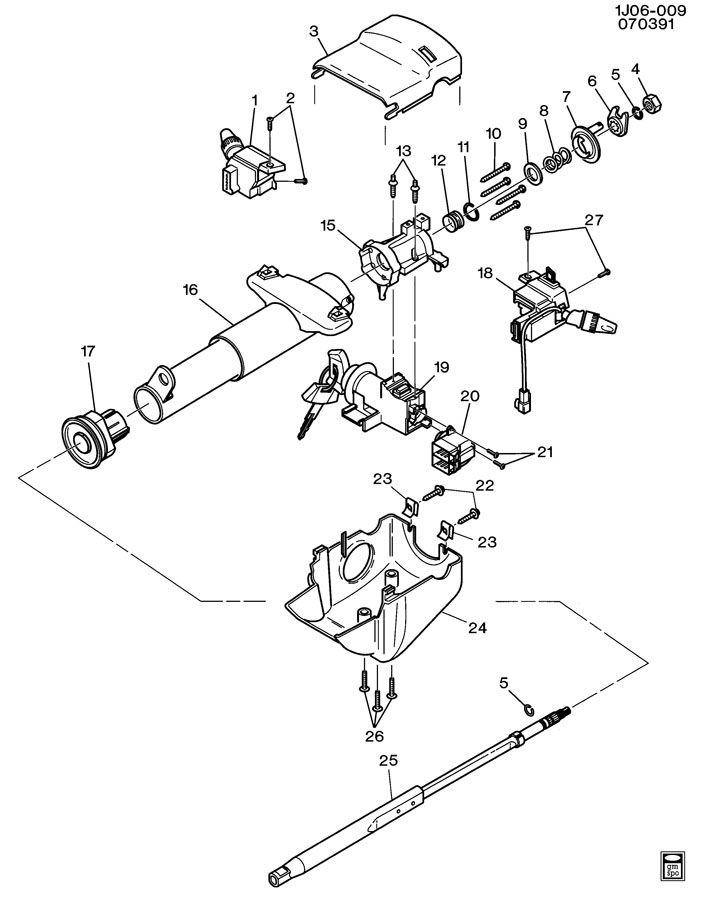 34 2004 Chevy Cavalier Steering Column Diagram - Free ...