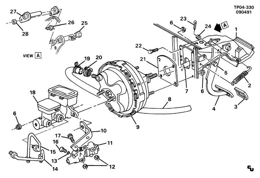 P30 Brake Parts Wiring Diagram And Fuse Box