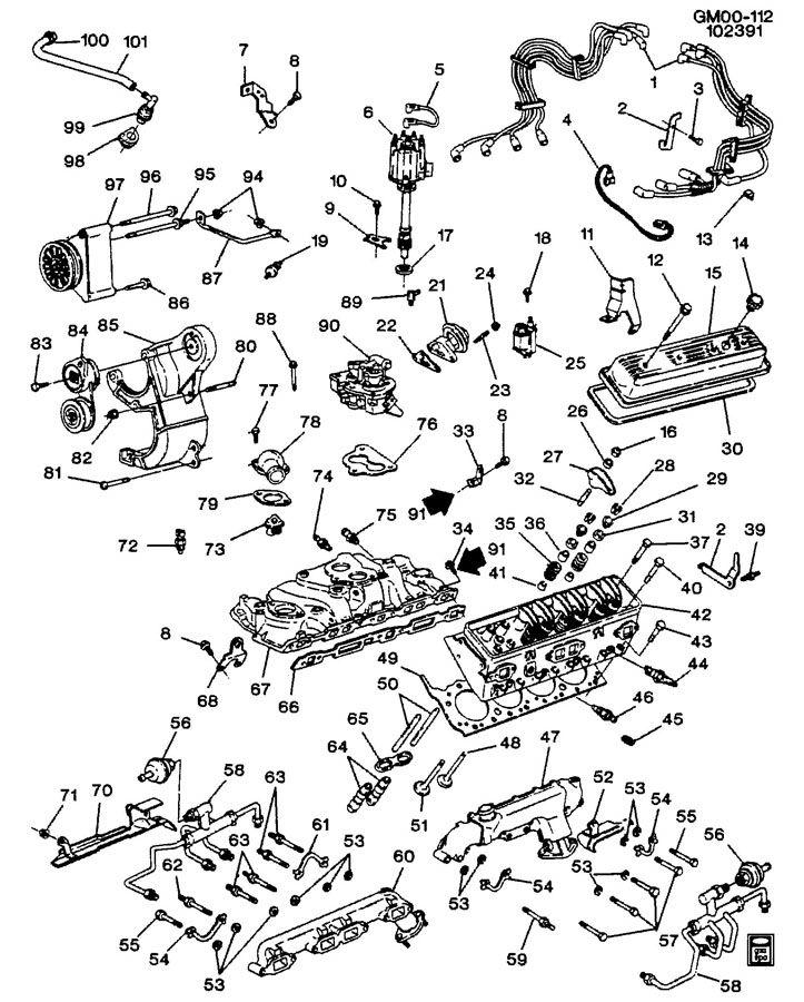 gm 350 l05 engine diagram gm 5 7 engine diagram wiring