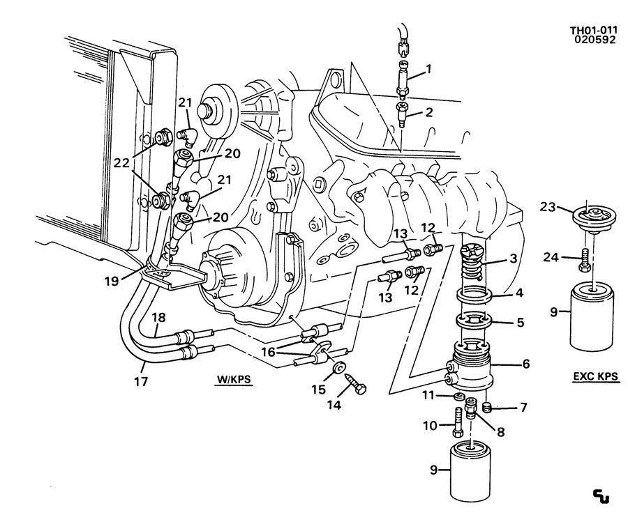 engine oil cooler lines  u0026 pressure switch