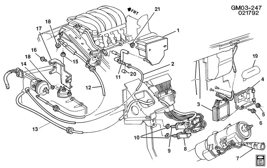 gm 3 8 liter engine vacuum diagram
