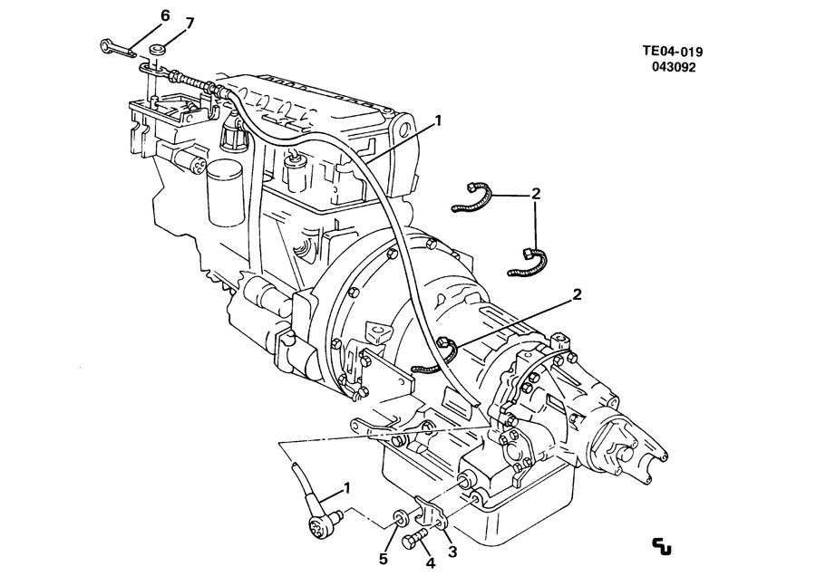 modulator pipe  automatic transmission