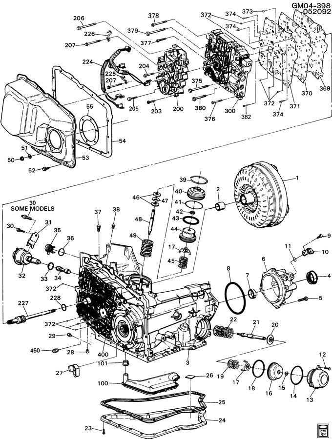 Transmission Wiring Diagrams 1998 Buick