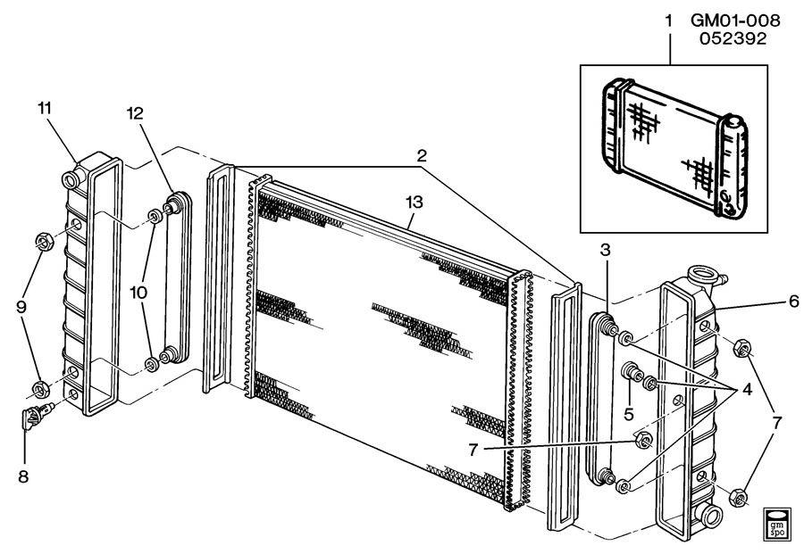 radiator drain plug location