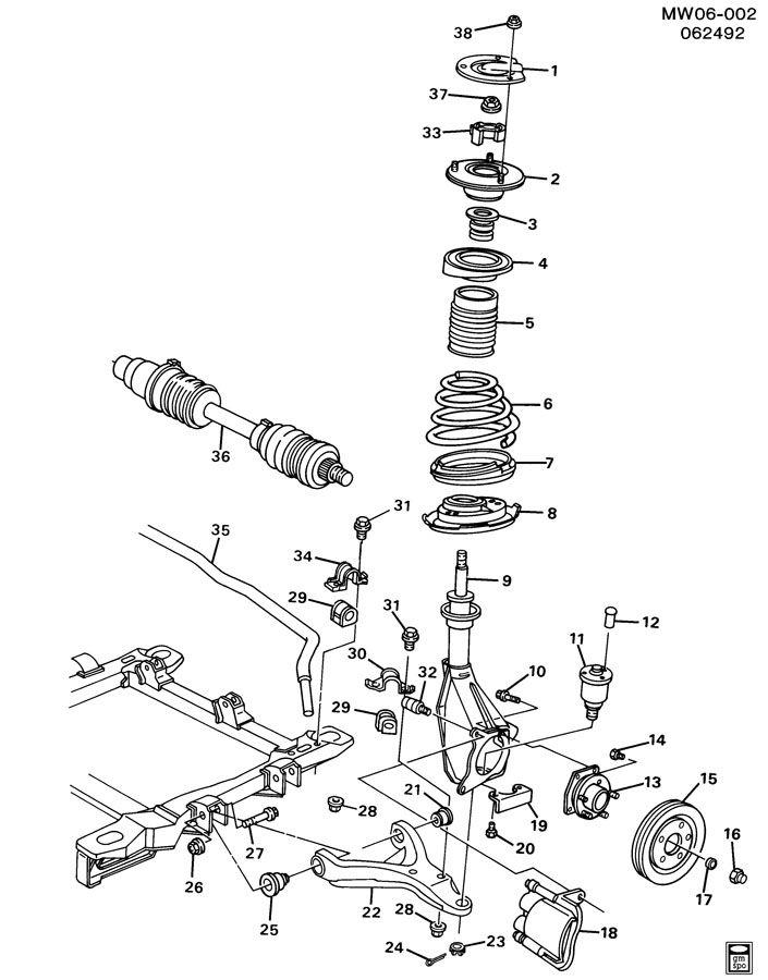 suspension  front