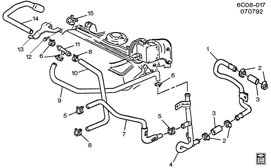 1985 cadillac eldorado engine diagram