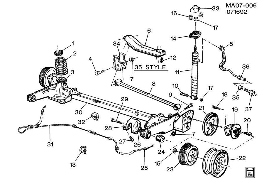 Buick Suspension Diagram on mgb distributor wiring