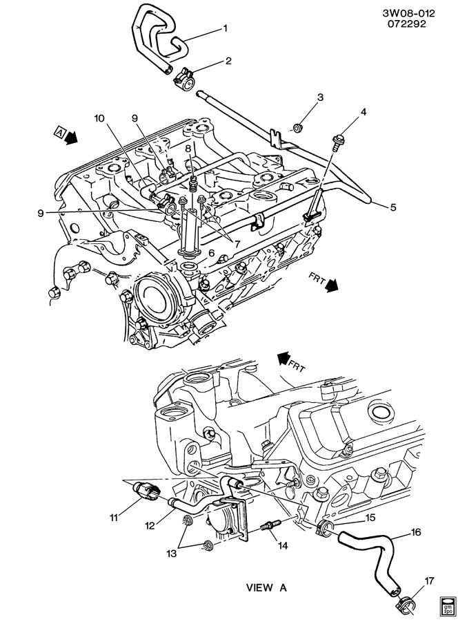 10182397 - gm pipe  engine coolant by