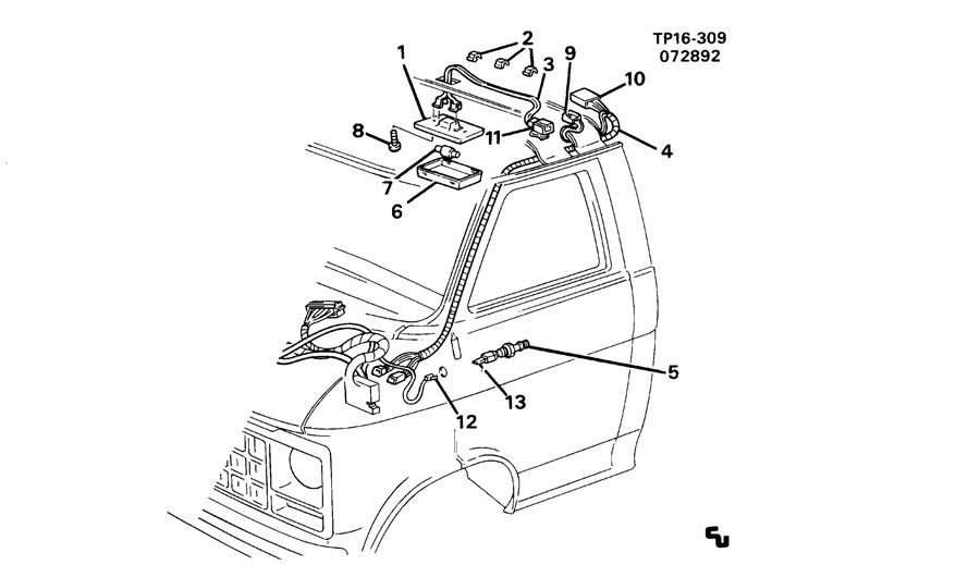 Diagram P3(52-62) LAMPS/COURTESY & DOME; for your Hummer
