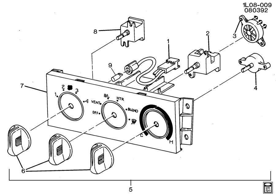 1996 Chevrolet Beretta Schaltplang