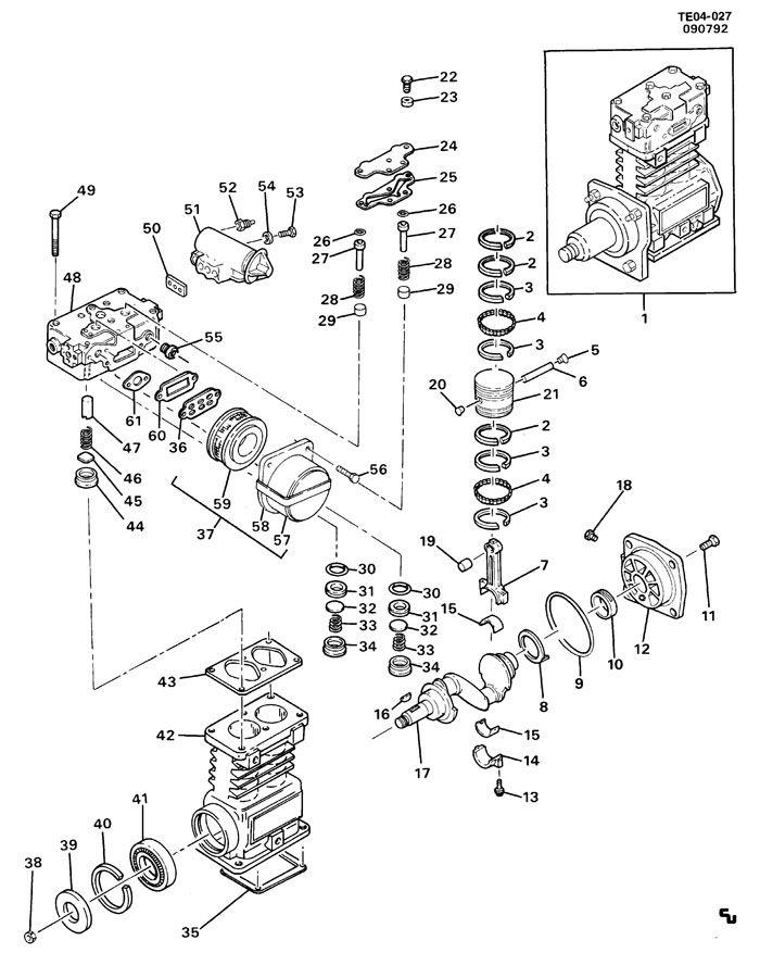 15155242 gm compressor air injection reactor pump and. Black Bedroom Furniture Sets. Home Design Ideas