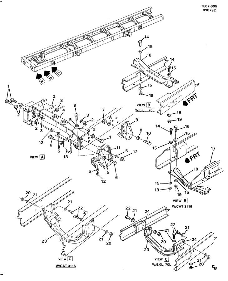 15654693 gm hanger front spring front hanger frt spr. Black Bedroom Furniture Sets. Home Design Ideas