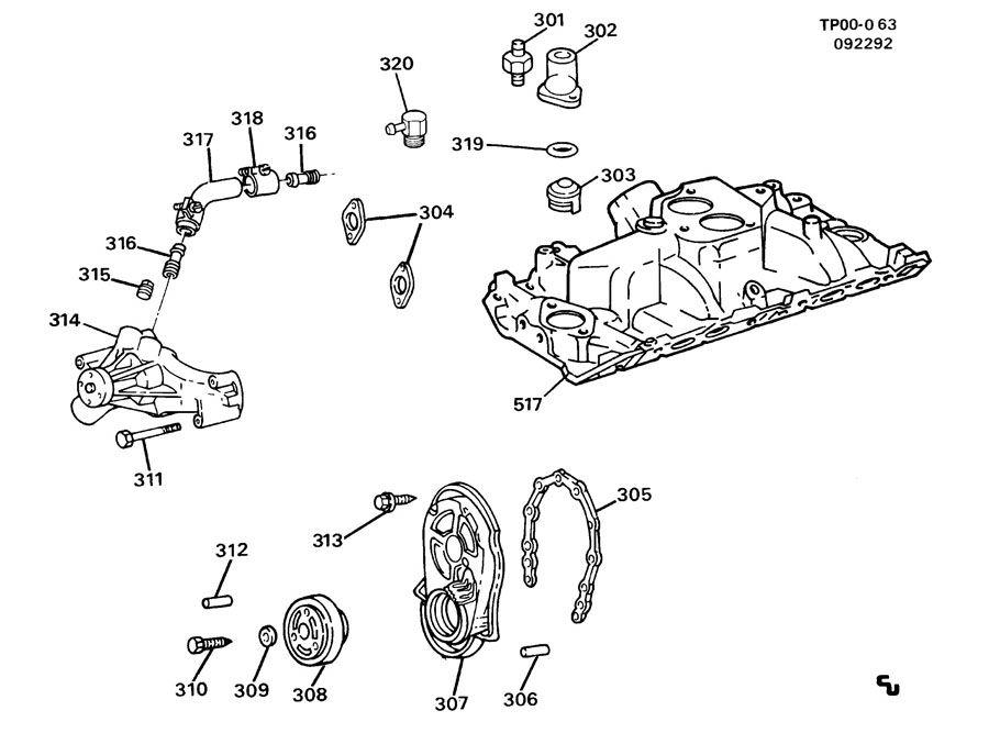 10171063 gmc bolt engine crankshaft pulley and balancer. Black Bedroom Furniture Sets. Home Design Ideas