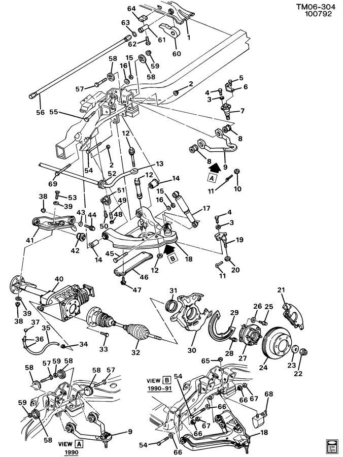 89 Chevy Astro Engine Diagram