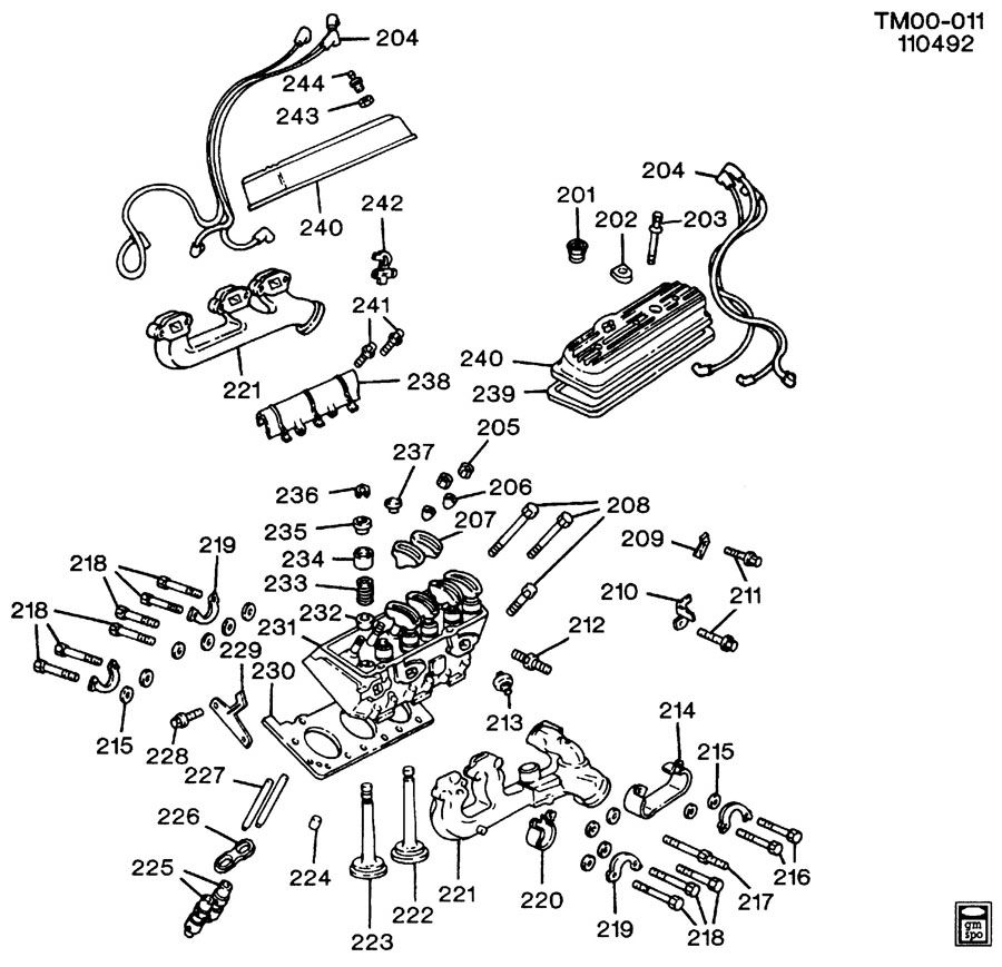 1995 chevy s10 engine diagram