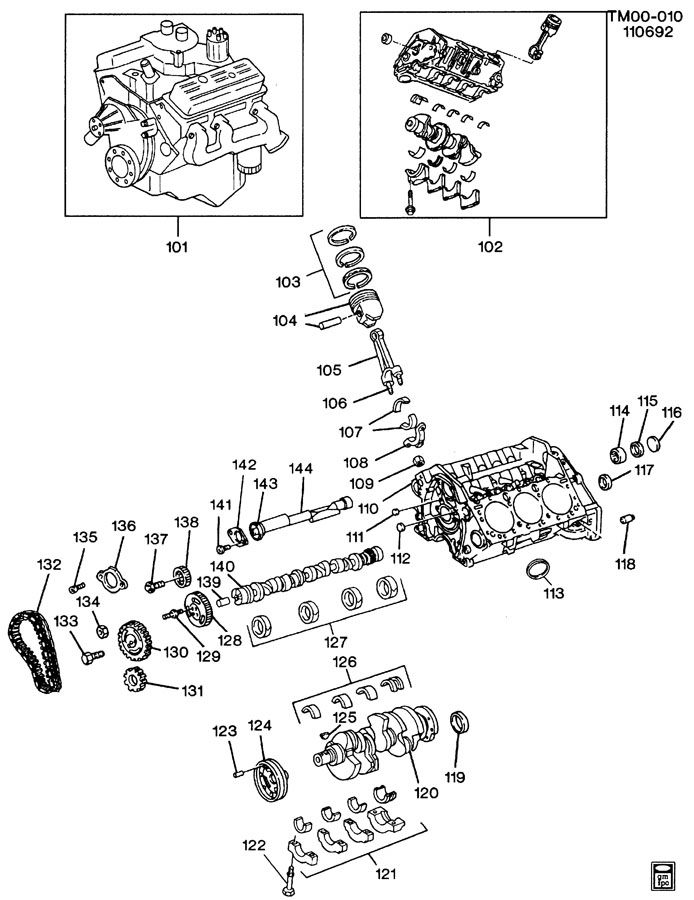V6 Vortec Engine Intake Diagram