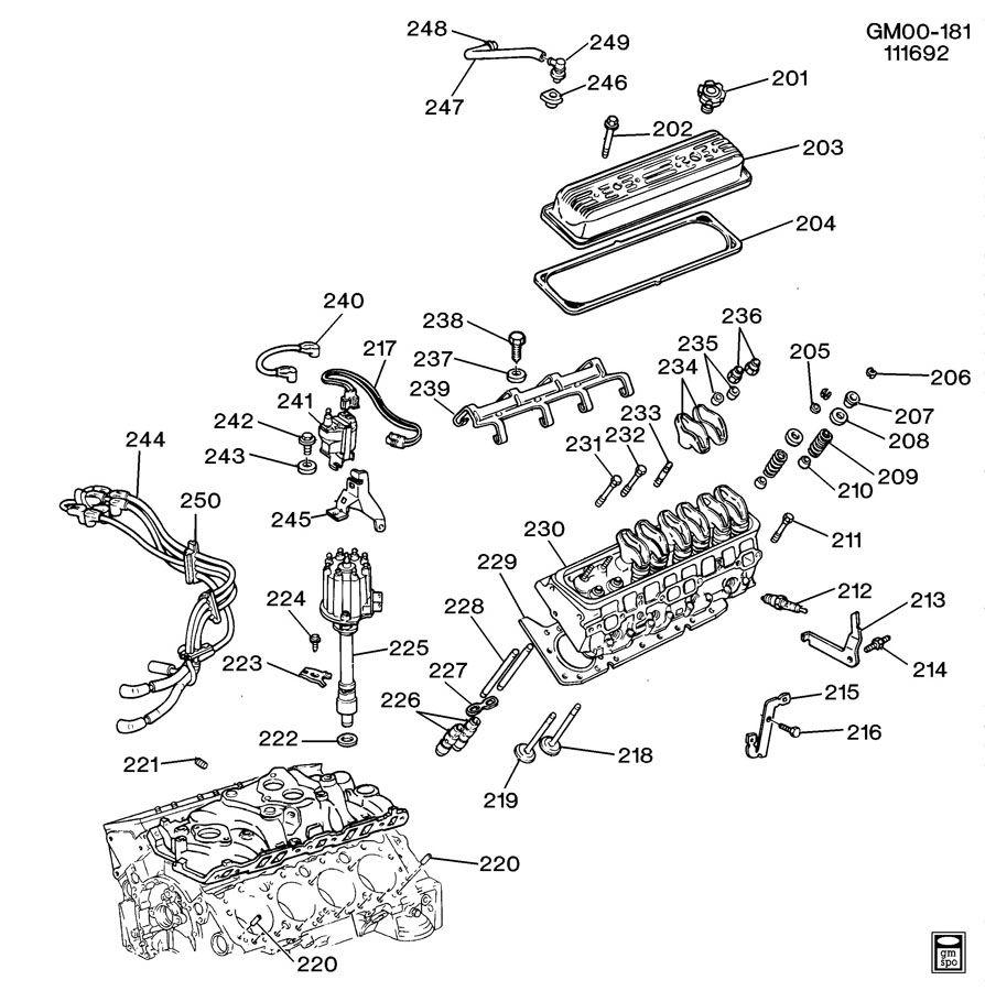 cadillac engine asm
