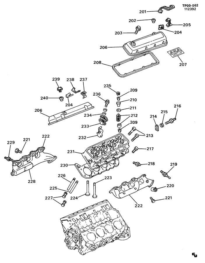 Chevrolet C2500 Head  Engine Cylinder  Head  Cyl  Headcyl