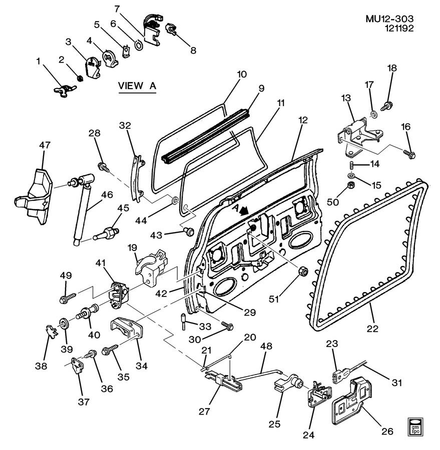 Chevrolet Tailgate Handle Parts Diagram ImageResizerTool Com