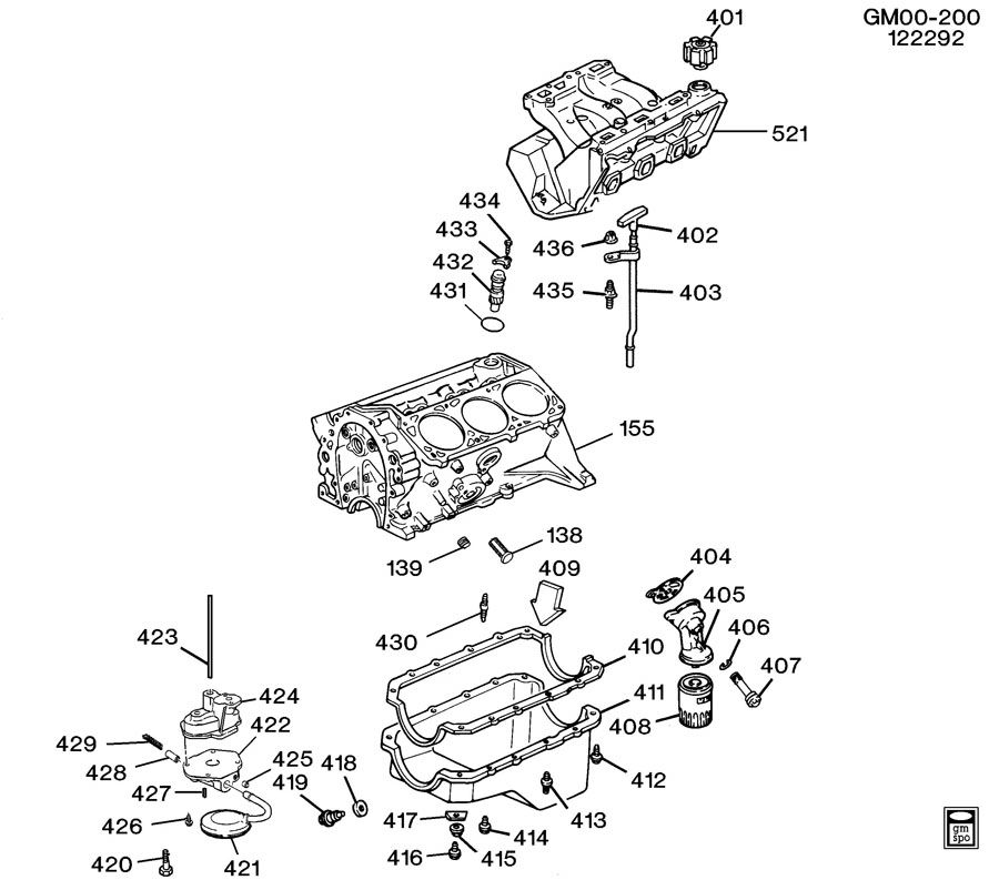 Chevrolet Cavalier Valve  Engine Oil Pressure  Valve  Oil Press Reg  Valve  Oil Press Rlf